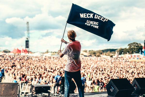 neck deep leeds festival