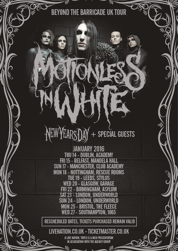 motionles in white