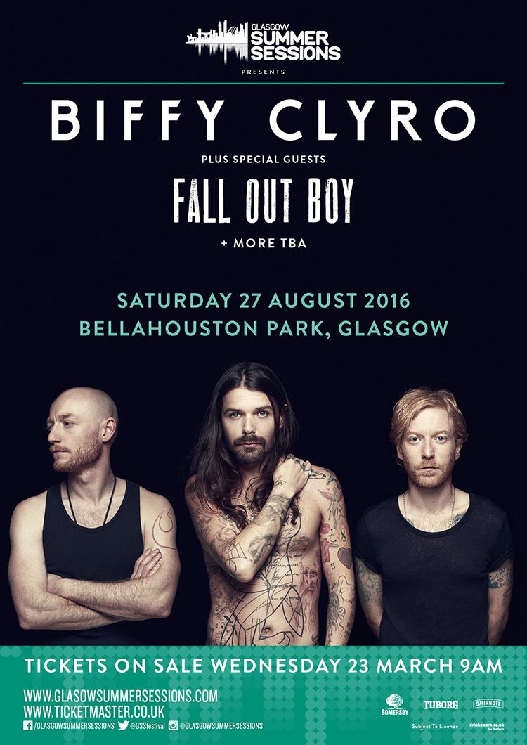 Biffy-Glasgow-show-poster