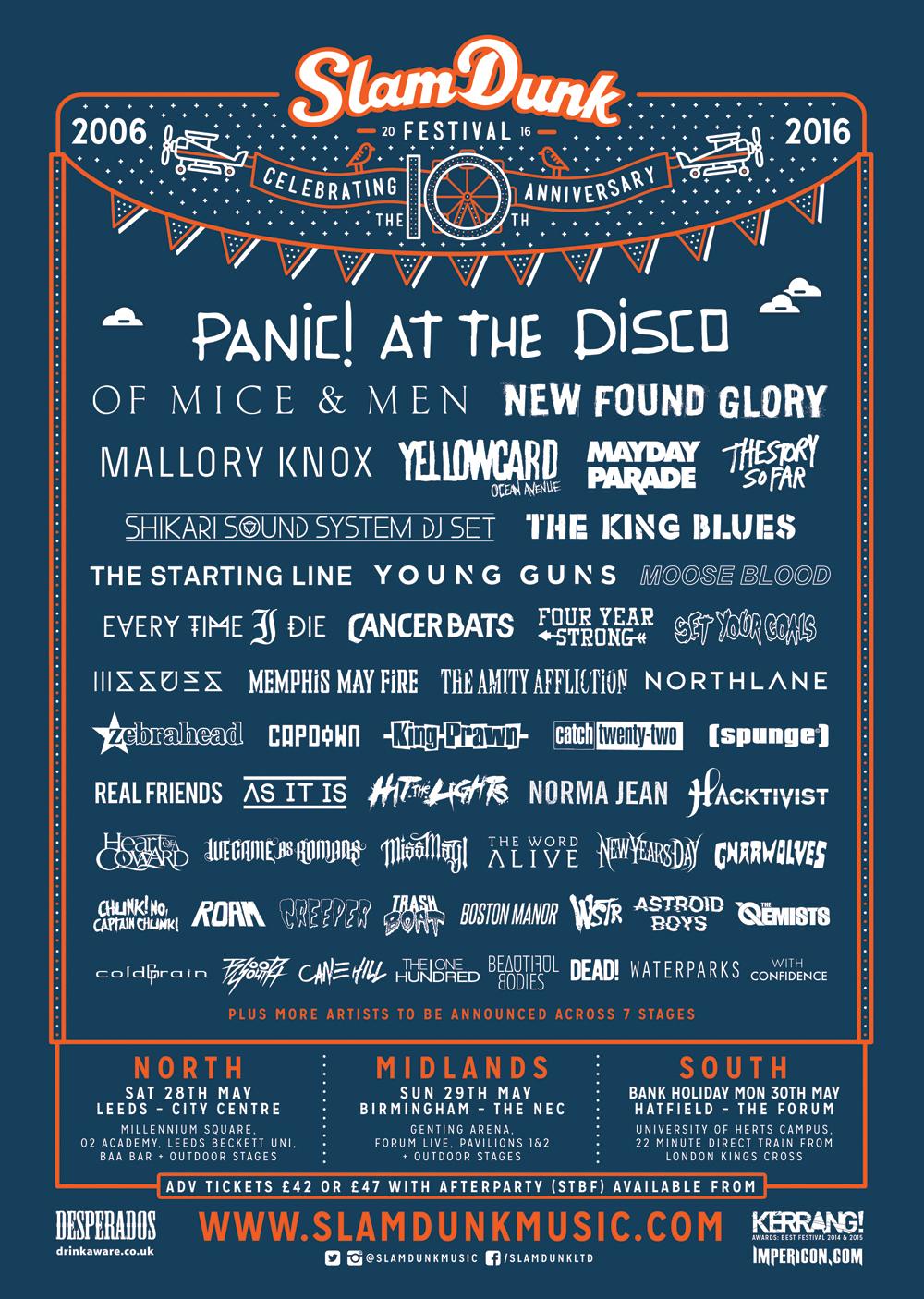 slam dunk festival 2016