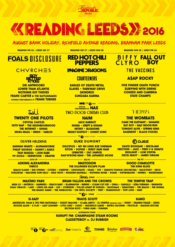 reading and leeds 2016