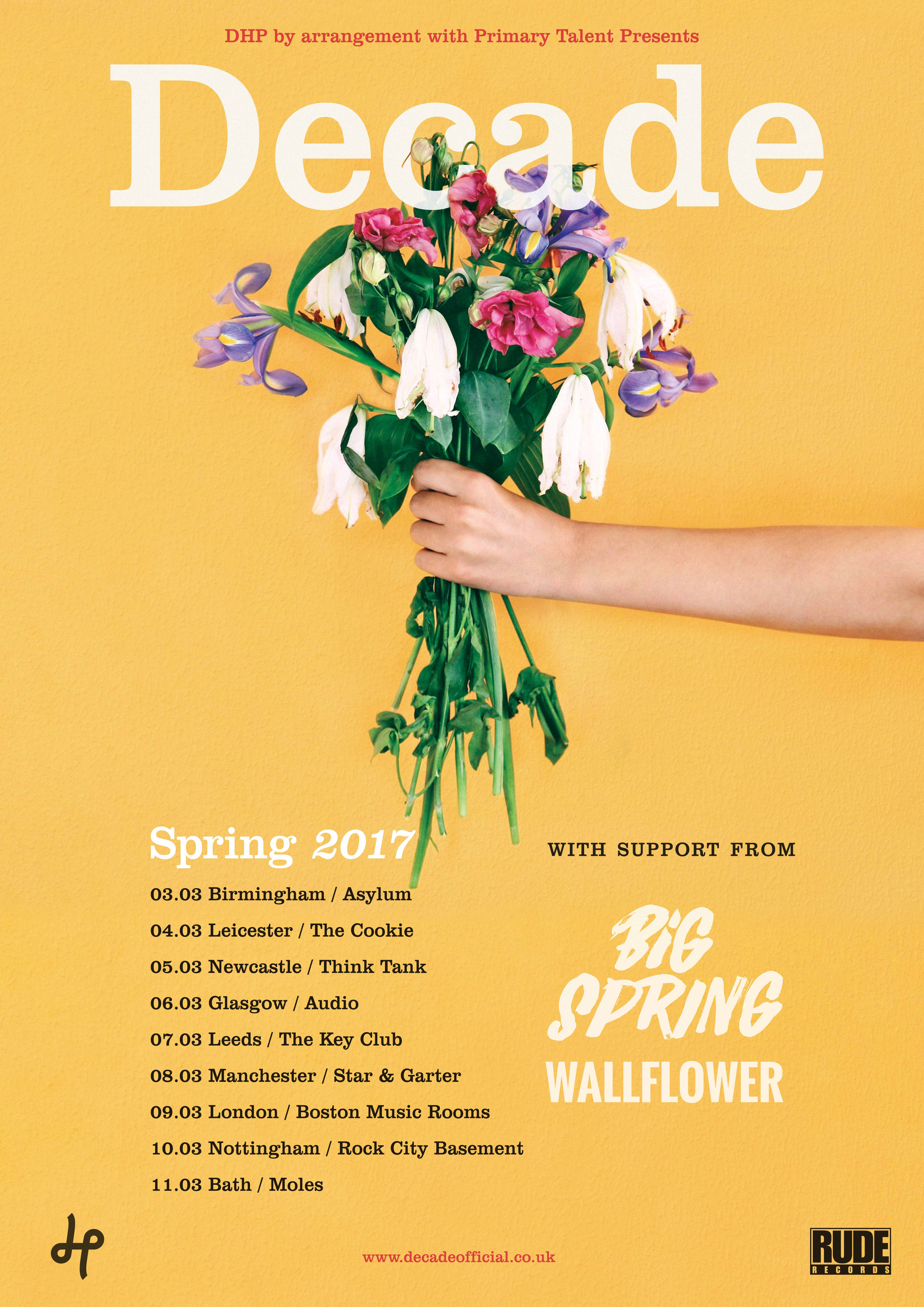 Big Spring Decade tour