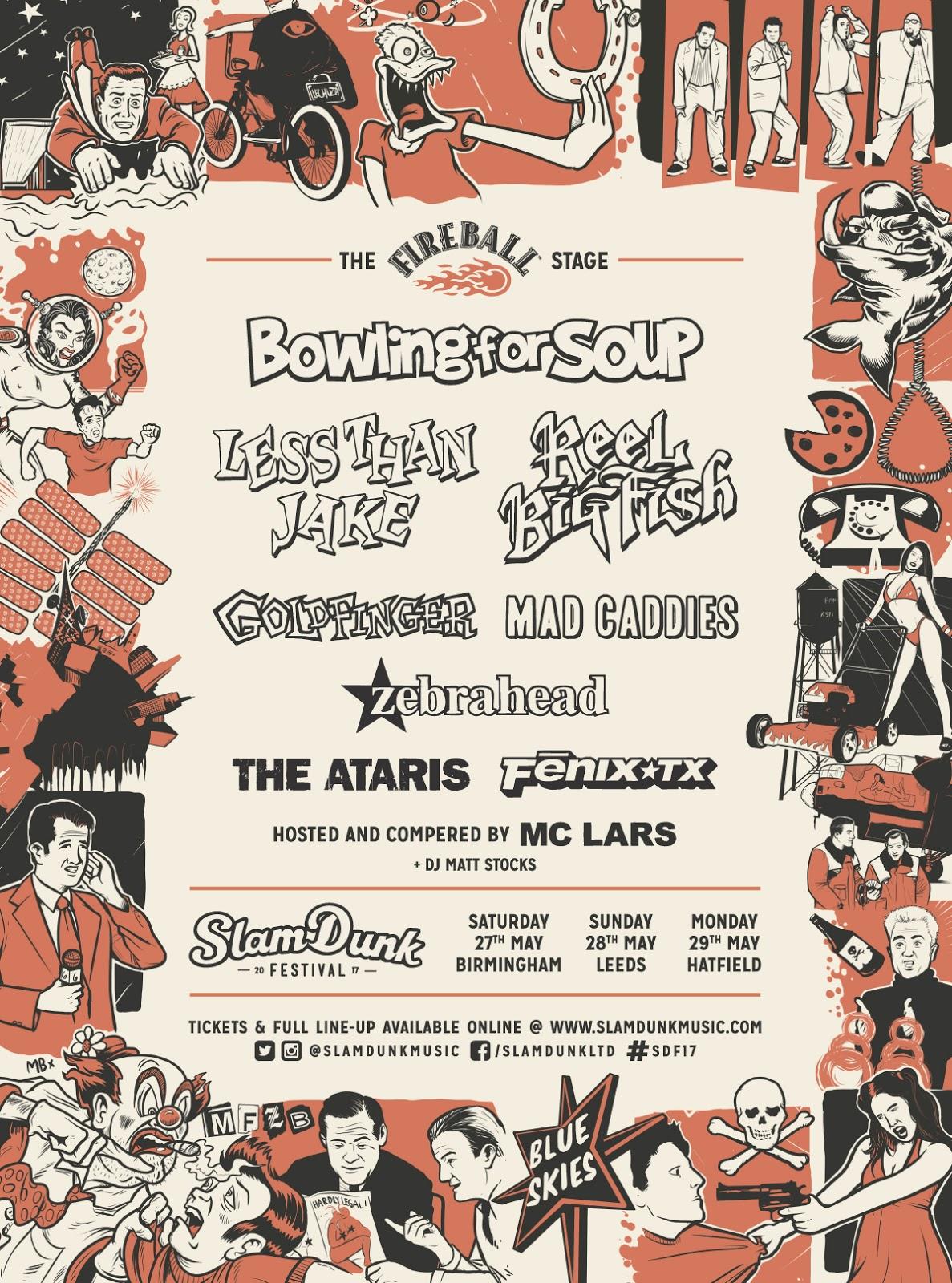 FINAL FIREBALL slam dunk festival 2017