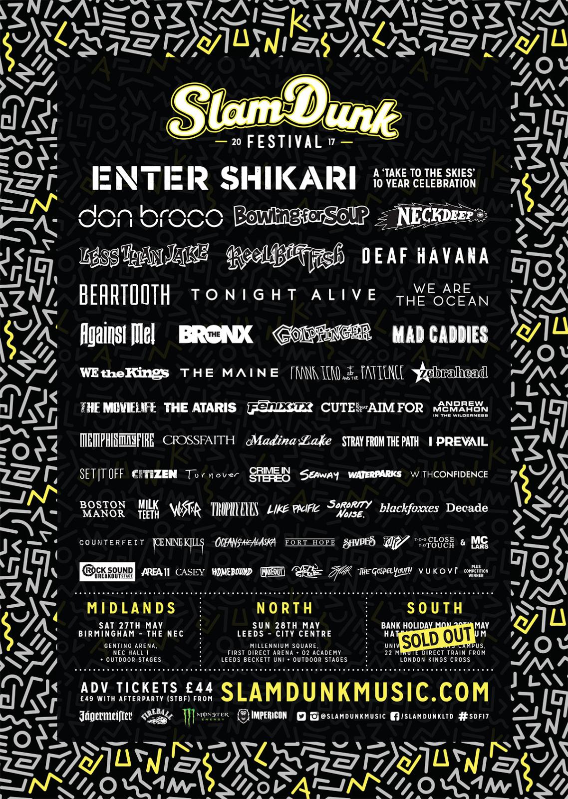 slam dunk festival 2017