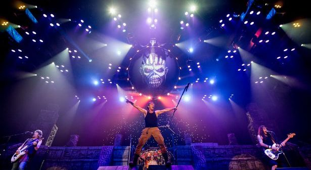 Live review: Iron Maiden return on their 'Book of Souls' Tour!