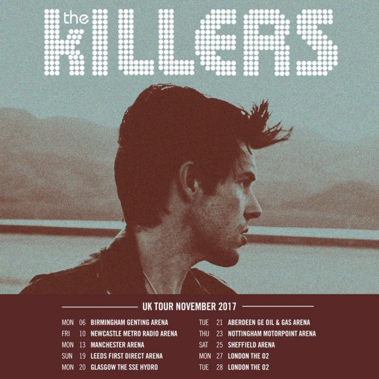 The killers tour dates in Brisbane