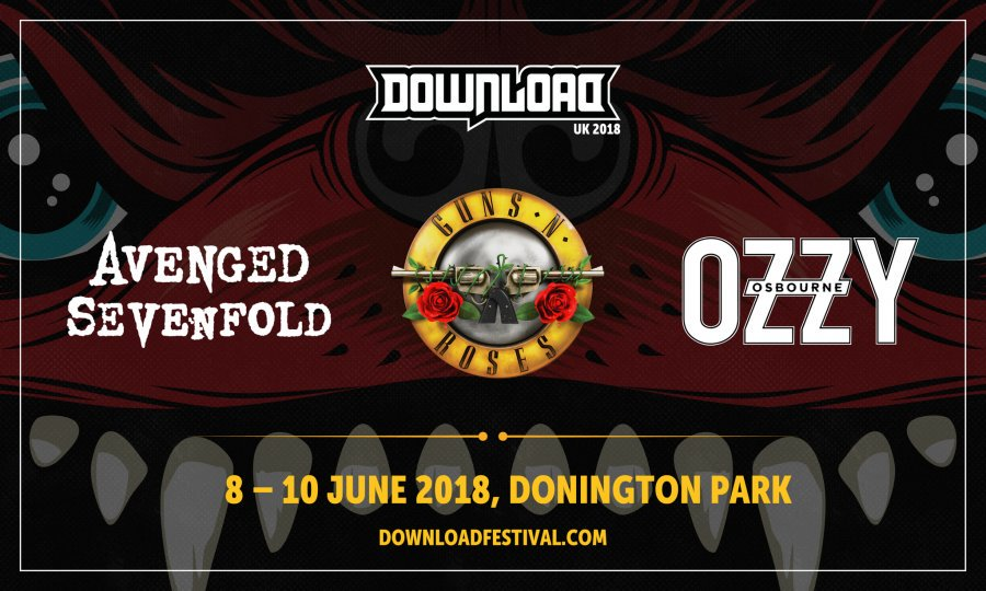 Download Festival announce headliners for 2018! - SOUNDCHECK