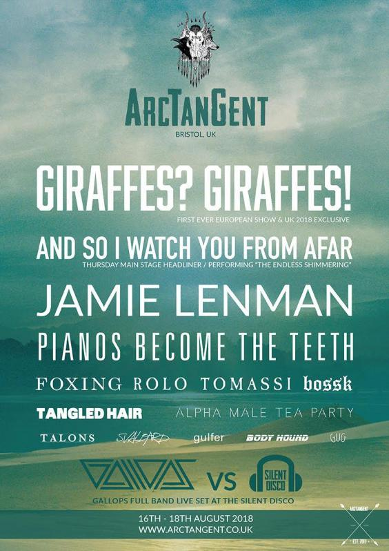 Arctangent Festival announce first acts for 2018 line up!